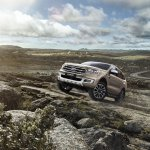 2019 Ford Everest (2019 Ford Endeavour) front three quarters scenic