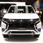 2019 Mitsubishi Outlander PHEV (facelift) front at GIMS 2018