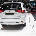 2019 Mitsubishi Outlander PHEV (facelift) rear at GIMS 2018