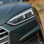 Audi A5 Cabriolet review headlight
