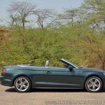Audi A5 Cabriolet review side top down