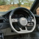 Audi A5 Cabriolet review steering wheel