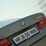 BMW 5-Series 530d review badge