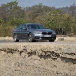 BMW 5-Series 530d review front angle far