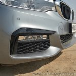 BMW 5-Series 530d review front bumper close
