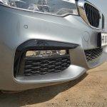 BMW 5-Series 530d review front bumper close