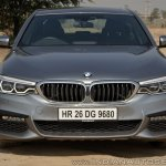 BMW 5-Series 530d review front view