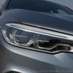 BMW 5-Series 530d review headlight