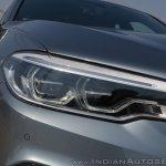 BMW 5-Series 530d review headlight