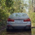 BMW 5-Series 530d review rear
