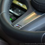 BMW 5-Series 530d review steering wheel close