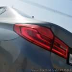 BMW 5-Series 530d review tail light