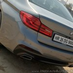 BMW 5-Series 530d review tail