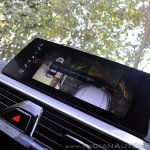 BMW 5-Series 530d review touchscreen