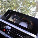 BMW 5-Series 530d review touchscreen