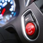 BMW M2 Competition engine start-stop button