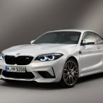 BMW M2 Competition front three quarters