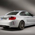 BMW M2 Competition rear three quarters