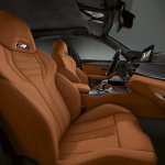 BMW M5 Competition front seats