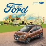 Ford EcoSport S front three quarters left side