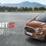 Ford EcoSport S front three quarters