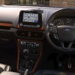 Ford EcoSport S interior dashboard