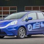 Honda Fit EV front three quarters