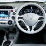 Honda Fit EV interior dashboard driver side