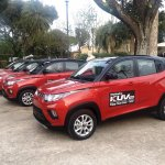 Italian-spec Mahindra KUV100 front three quarters left side