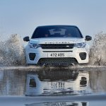 Land Rover Discovery Sport Landmark edition front water-wading