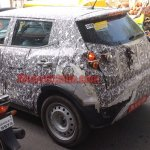 Mahindra S201 rear fascia spy shot