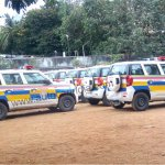 Mahindra TUV300 Mumbai Police fleet spotted in stockyard