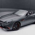 Mercedes-AMG SLC 43 RedArt front three quarters
