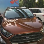 New Ford EcoSport Signature front unofficial image