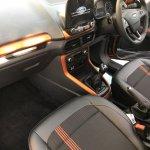 New Ford EcoSport Signature interior unofficial image