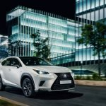 New Lexus NX Sport front three quarters