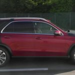 Next-gen Mercedes GLE profile spy shot