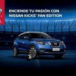 Nissan Kicks Fan Edition front three quarters