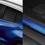 Nissan Kicks Fan Edition safety film and door sills