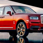 Rolls-Royce Cullinan front three quarters leaked image