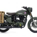 Royal Enfield Classic 500 Pegasus Limited Edition Olive Drab Green side
