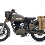 Royal Enfield Classic 500 Pegasus Limited Edition Service Brown side