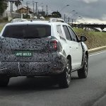 Second-gen Renault Duster rear three quarters right side spy shot Brazil