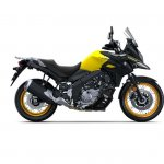 Suzuki V-Strom 650 XT press right side