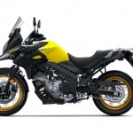 Suzuki V-Strom 650 XT press shot left side