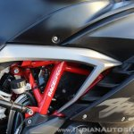 TVS Apache RR 310 Black detailed review frame