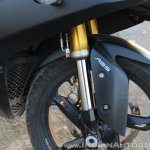 TVS Apache RR 310 Black detailed review front suspension