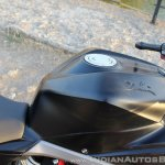 TVS Apache RR 310 Black detailed review fuel tank