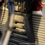 TVS Apache RR 310 Black detailed review radiator