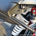TVS Apache RR 310 Black detailed review rear monoshock